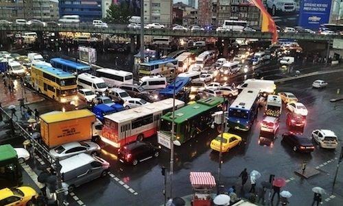 En sıkışık Avrupa şehirleri