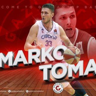 Marko Tomas, Gaziantep Basketbol'da