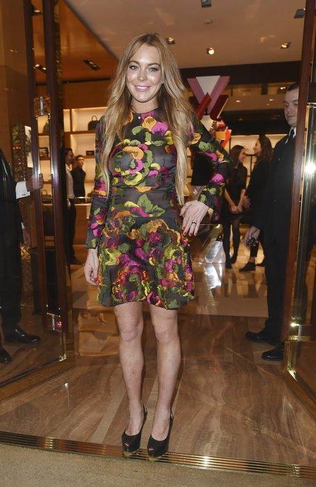 Lindsay Lohan'ın Bodrum'da tekne gezintisinde parmağı koptu