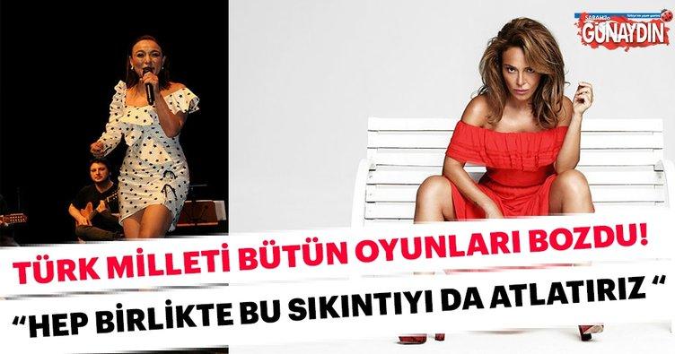 Ziynet Sali: Türk milleti bütün oyunları bozdu Hep birlikte bu sıkıntıyı da atlatırız