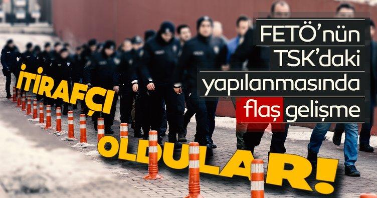 Son dakika: FETÖ'nün TSK'daki yapılanmasında flaş gelişme