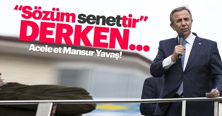 Mansur Yavaş'ın senet skandalına çarpıcı yorum