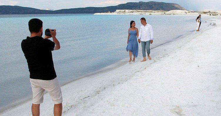 Türkiye'nin Maldivleri gelin ve damatların fotoğraf çekim merkezi