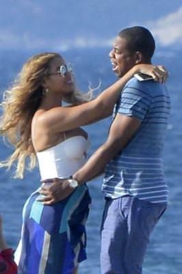 Beyonce ve Jay Z'nin romantik tatili