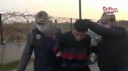 Son dakika: İkiz şehitlerin kabrine saldıran DEAŞ üyeleri adliyeye sevk edildi
