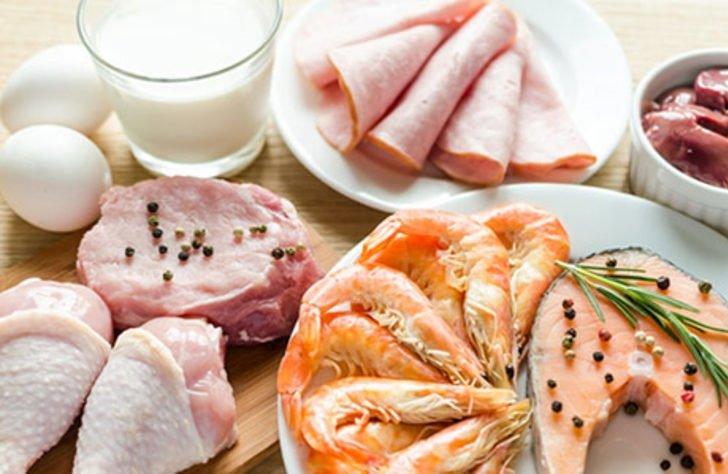 1 hafta 5 kilo verdiren Dukan diyeti listesi