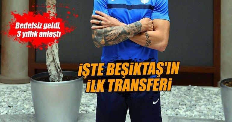 Beşiktaş, Titi ile anlaştı