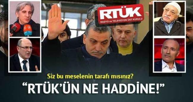 """RTÜK'ün ne haddine!"""