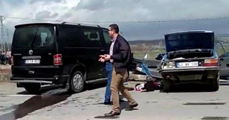 Minibüs ile otomobil çarpıştı: 2 ölü, 2 yaralı