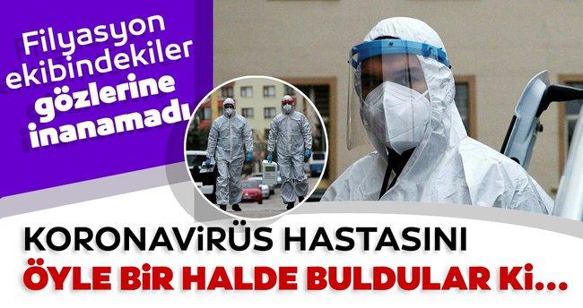 Son dakika haberi: Ankara'da akıllara durgunluk veren olay! Koronavirüs hastası öyle bir hâlde bulundu ki...