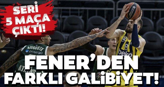 THY Euroleague: Fenebahçe Beko evinde Panathinaikos'u farka boğdu!