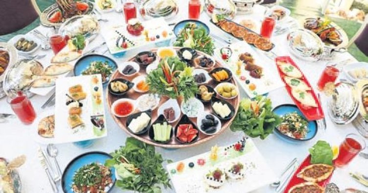 Türk-Osmanlı iftar menüsü