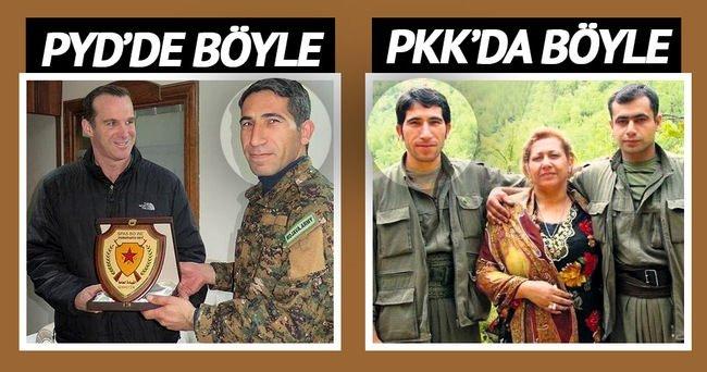 Obama'nın temsilcisi PKK'lıdan plaket aldı!