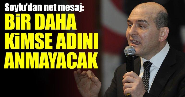 Hatay'da İçişleri Bakanı Süleyman Soylu'dan net PKK mesajı!