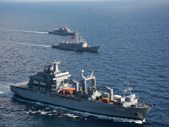 NATO Deniz Kuvvetleri'nden Doğu Akdeniz tatbikatı