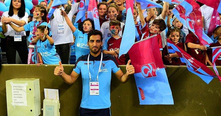 Vahid Amiri: Trabzonspor'da kalıcı olmak istiyorum