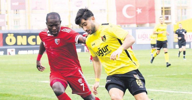 Gol yağmurundan Ankaraspor eli boş dönüyor