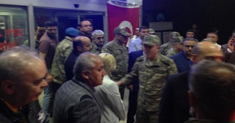 Genelkurmay Başkanı Akar helikopter kazasıyla ilgili bilgi aldı