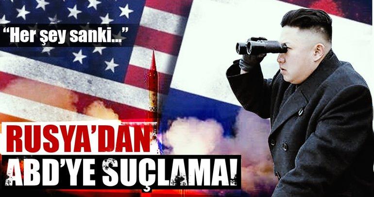 Rusya'dan ABD'ye suçlama! ABD yüzünden...