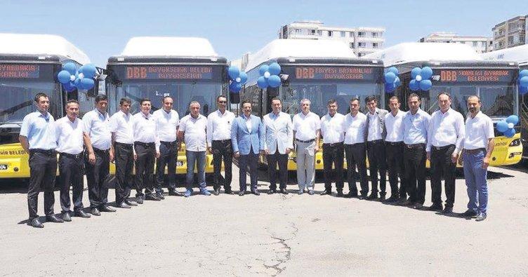 Diyarbakır'da halka hizmete devam