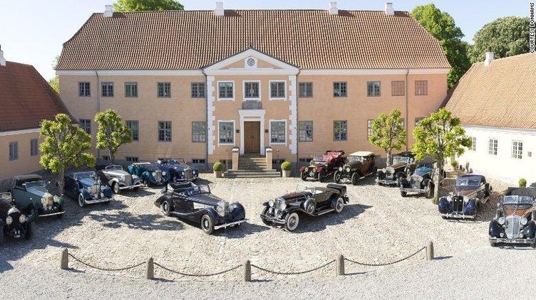 36 milyon euroluk klasik otomobil koleksiyonu