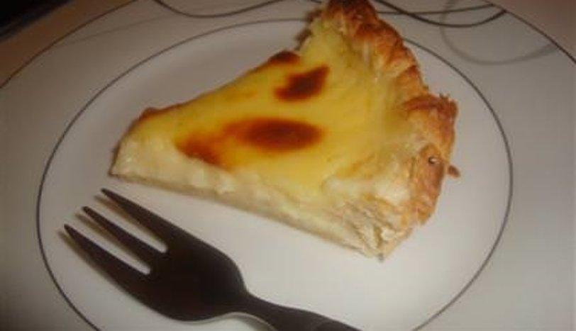 Milföylü muhallebili turta (flan pâtissier)