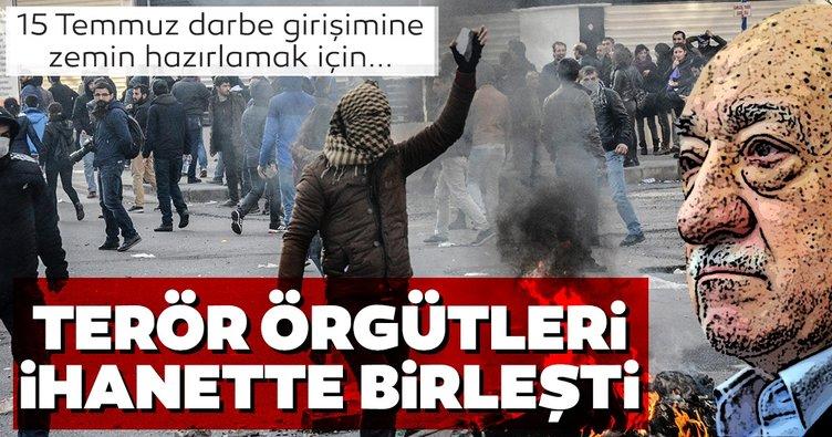 FETÖ ve PKK 15 Temmuz ihanetinde birleşti!