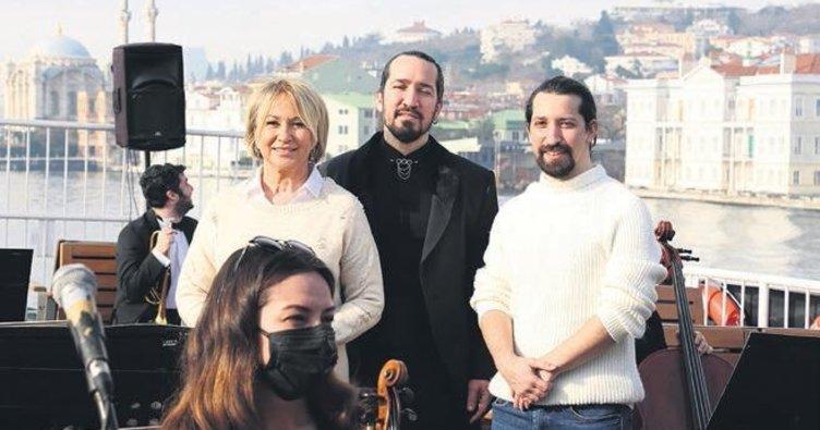 2023'ün provası Barış Manço vapurunda yapıldı