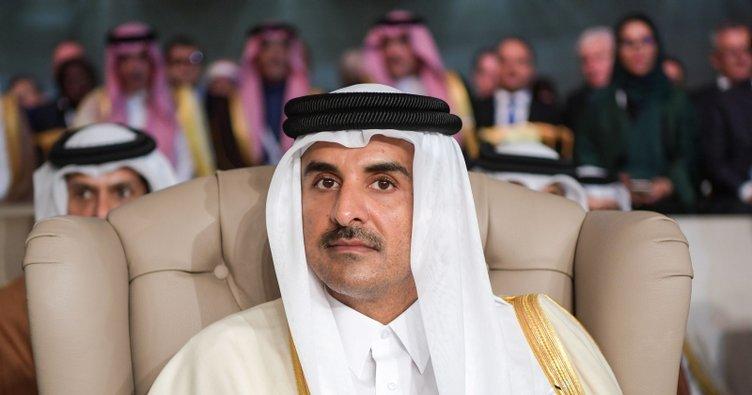 Katar Emiri ABD'li heyetle görüştü