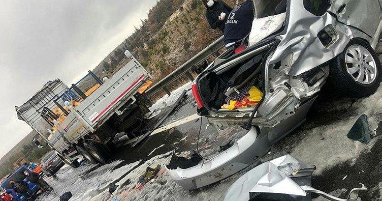 Ankara'da zincirleme kaza: 4 ölü, 7 yaralı