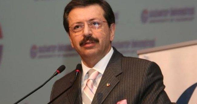 TOBB Başkanı Hisarcıklıoğlu'ndan 'fiyat artışı yerine sürümden kazanmaya odaklanılmalı' çağrısı