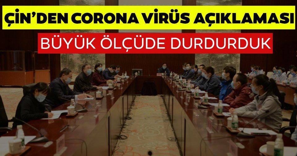 Son dakika: Çin Ulusal Sağlık Komisyonu: 'Korona virüs salgınını büyük ölçüde durdurduk'