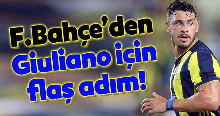 Fenerbahçe'den Giuliano için flaş adım!