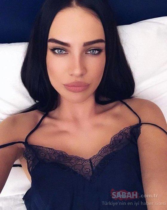 Adriana Lima'nın tahtına aday! Rus model inanılmaz benzerliğiyle dikkat çekiyor...