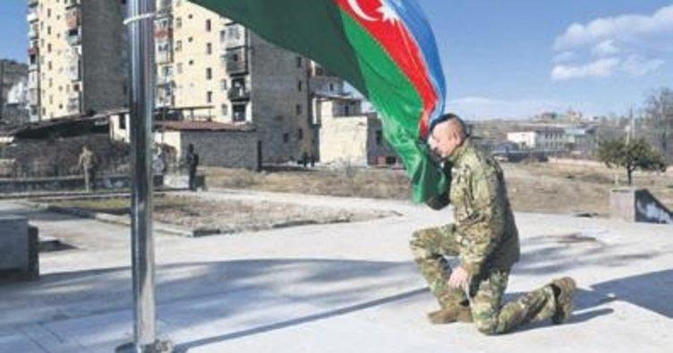 Aliyev kültür başkenti Şuşa'da