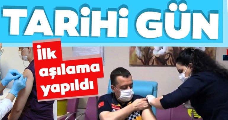 Koronavirüs aşısında son dakika: Koronavirüs salgını ile mücadelede tarihi gün!