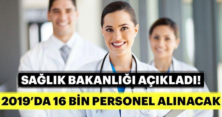 Son dakika haberi: Sağlık Bakanlığı'ndan 2019 personel alımı müjdesi! İşte 16 bin sözleşmeli personel alımı başvuru şartları