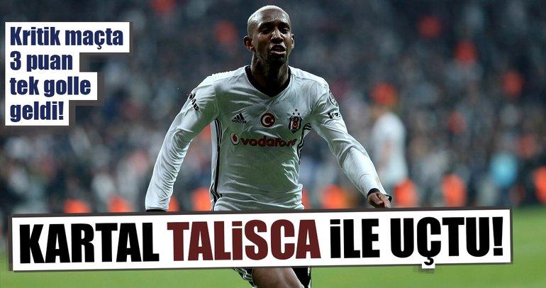 Beşiktaş şampiyonluk yarışında fire vermedi!