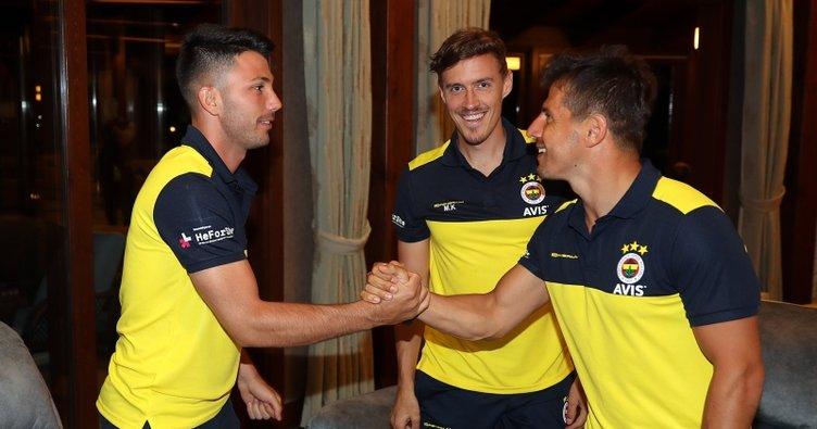 Fenerbahçe'de Emre Belözoğlu kampa katıldı