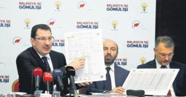 AK Parti'den YSK'ya ek deliller