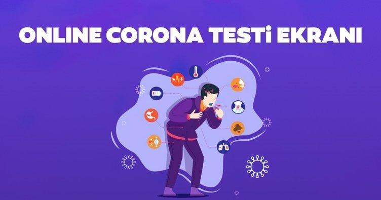 Online corona testi nasıl ve nereden yapılır? Sağlık Bakanlığı Koronavirüs Önlem Sayfası ile internetten corona virüsü testi yap