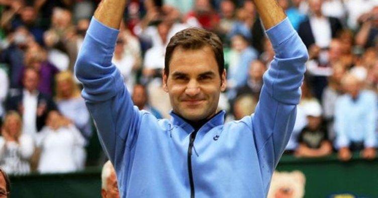 Federer'in 9'uncu harikası Halle