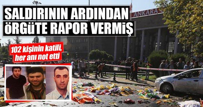 DEAŞ'lı terörist Durmaz, Ankara Gar saldırısı sonrası örgüte rapor vermiş