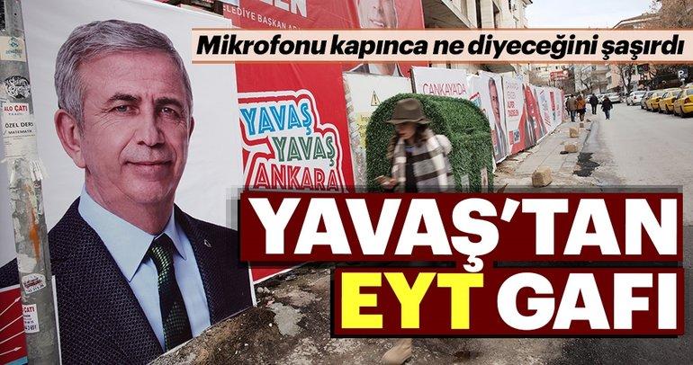 Mansur Yavaş'ın seçim vaadleri alay konusu oldu