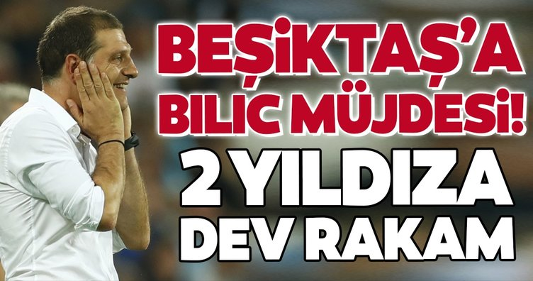 Beşiktaş'ta son dakika: Bilic'ten müjde! 2 yıldıza dev rakam