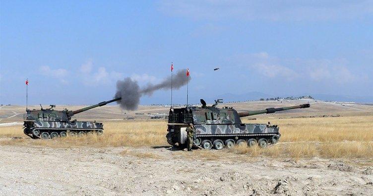 Türkiye Afrin'de YPG'yi vurdu, ses ABD'den geldi!