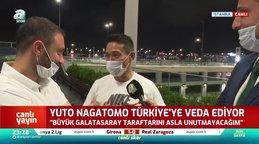 Japon yıldız Nagatomo Türkiye'ye böyle veda etti