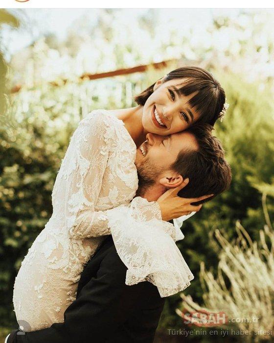 Selena'nın yıldızı Serkan Şenalp ile Esengül Yılmaz düğün yaptı! Ünlü oyuncu nikahta adını şaşırmıştı…