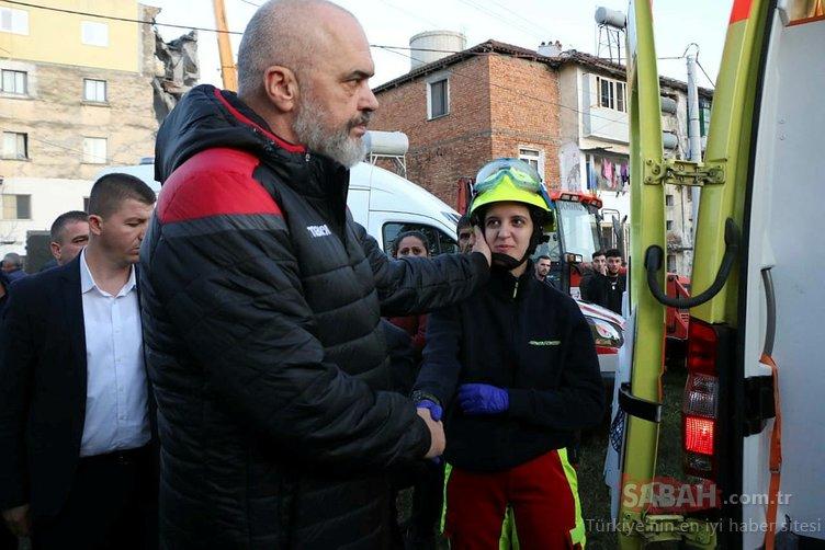 TİKA'dan Arnavutluk'taki depremzedelere yardım ulaştırıldı