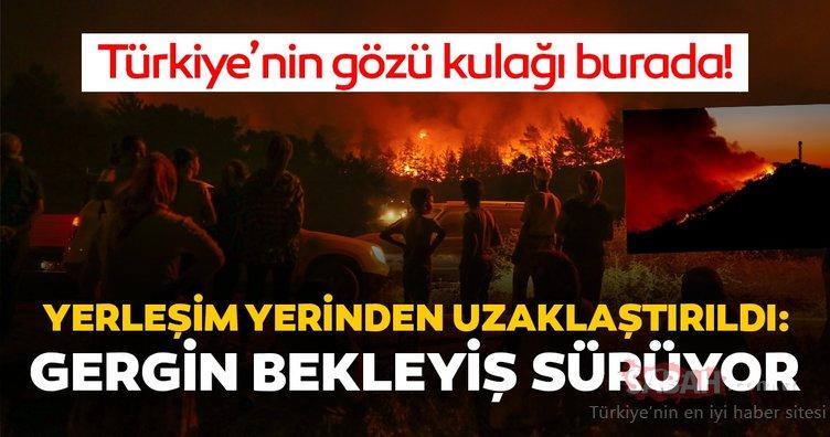 İzmir'den son dakika haber geldi: Tüm Türkiye'nin gözü kulağı orada! İzmir'de orman yangını....